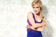 Free Beautiful Blonde Girl Stock Photos - 20865503