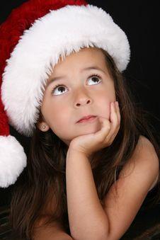 Free Christmas Girl Royalty Free Stock Photography - 20866377