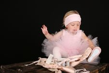 Free Ballet Girl Stock Photography - 20866382