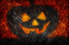 Free Grunge Textured Halloween Night Background Royalty Free Stock Photography - 20866747