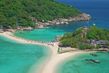 Free Beach On Nangyuan Island,Thailand Royalty Free Stock Photo - 20867155