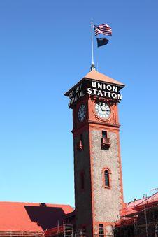 Union Station, Portland OR. Stock Photos