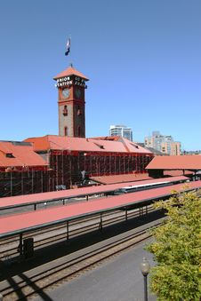 Free Union Station, Portland OR. Stock Photo - 20867210
