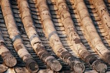 Free Old House Roof Tile Royalty Free Stock Photography - 20867237