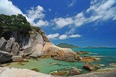 Free Rock And Sea On Samui Island Stock Photos - 20867593