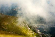 Landscape Of Bucegi Mountains Stock Photography