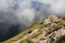 Landscape Of Bucegi Mountains Royalty Free Stock Photography