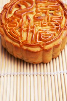 Free Traditional Mooncake Royalty Free Stock Image - 20868316