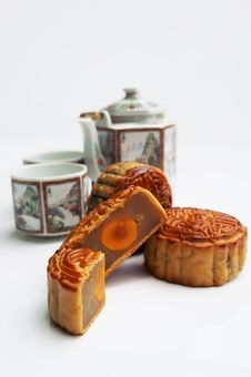 Free Traditional Mooncake Royalty Free Stock Photos - 20868908