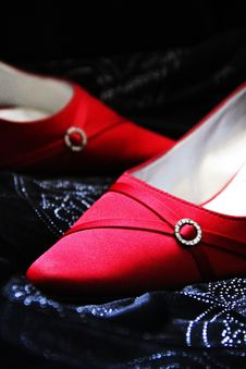 Free Wedding Shoes Royalty Free Stock Photo - 20869315