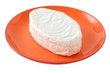 Free Cheese On A Plate Stock Images - 20869654