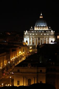Free Saint Peter Cathedral Stock Photography - 20869792