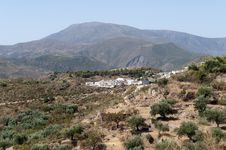 Free View Of Almegijar Village Royalty Free Stock Image - 20869836