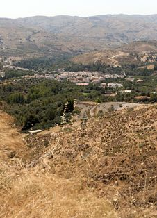 Free View Of Cadiar Village Stock Images - 20869954