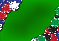 Free Poker Chips Background Royalty Free Stock Photography - 20869967