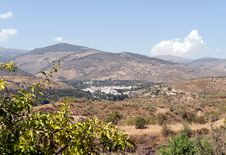 Free View Of Cadiar Village Stock Photography - 20870022