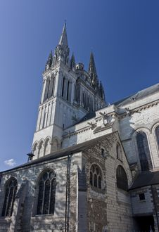Free Cathedral In Angers Royalty Free Stock Photos - 20870078
