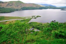 Lake Derwentwater. Royalty Free Stock Photography