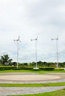 Free Wind Turbine Stock Photography - 20870652