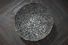 Free Antique Decorative Metallic Fruit Dish Stock Photo - 20870750