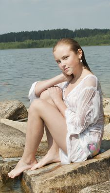 Free Portrait Of The Girl Royalty Free Stock Photo - 20871825