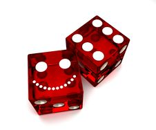 Free Red Dice Stock Photos - 20873073