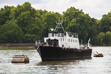 Free A Boat On The River Thames Stock Image - 20873141