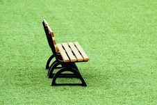 Free Grass Bench Stock Photo - 20873160