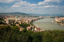 Free Budapest Skyline Royalty Free Stock Photos - 20873338