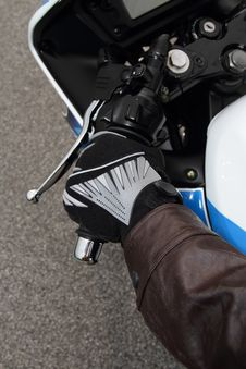 Free Biker Glove Royalty Free Stock Image - 20873386
