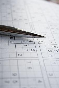 Free Sudoku Royalty Free Stock Photo - 20873925