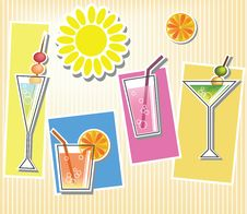 Free Summer Cocktails Stock Photos - 20873963