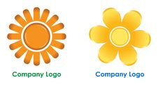 Company Logo Royalty Free Stock Images