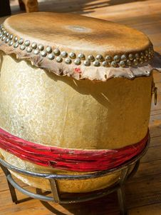 Free Chinese Drum Royalty Free Stock Photos - 20875028