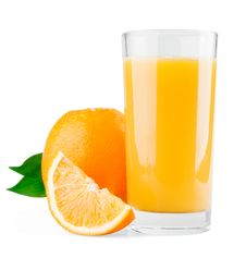 Free Orange And Half With Leaves And Juice Stock Photos - 20875143
