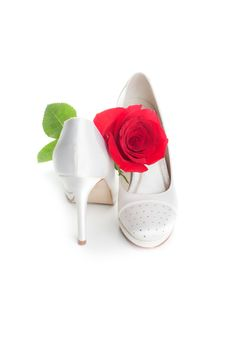 Free Gorgeous Wedding Shoes Stock Photography - 20875952