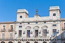 Free City-hall Building At Avila, Spain Stock Image - 20876241
