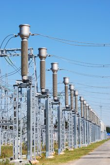Free Electric Substation Stock Photo - 20876570