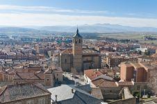 Free Santa Maria De Gracia Convent At Avila, Spain Royalty Free Stock Photo - 20876595
