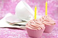 Free Pink Cupcake Stock Images - 20877264