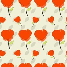 Free Retro Flowers Background Royalty Free Stock Image - 20877346