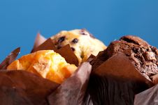 Free Three Muffins Macro Stock Photography - 20877392