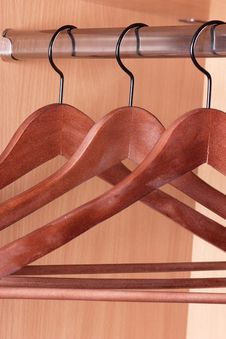 Free Clothes Hangers Royalty Free Stock Image - 20877436