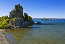 Free Tufa Formations At Mono Lake Royalty Free Stock Photography - 20878257