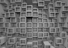 Free Abstract Cube Wall Stock Photos - 20879433
