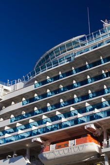 Free Balconies On A Cruise Liner Stock Photo - 20879500