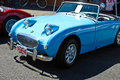 Free Vintage Blue Convertible Car Royalty Free Stock Photo - 20880785
