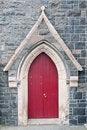 Free Red Church Door Stock Image - 20889801