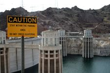 Free Hoover Dam Stock Image - 20880031