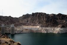 Free Hoover Dam Royalty Free Stock Image - 20880086